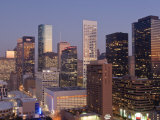 Skyline, Houston, Texas, United States of America, North America