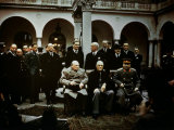 Big Three Conference, Yalta, February 1945, Photograph