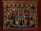 Pharaoh Ahmose I Purified with Sacred Water of Gods Amon Ra and Ra, 18th dynasty