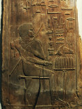 The Deceased Seated in Front of an Offering Table, 5th Dynasty 2450-2325 BC