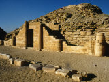 East Front of Funerary Complex of Pyramid of Pharaoh Djoser, or Zoser