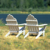 Adirondack Chairs, Puget Island, Wahkiakum County, Washington