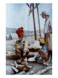 Buy Indian Cavalrymen at Rest, 1917 at AllPosters.com