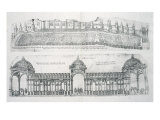 Views of Montargis, from 'Les Plus Belles Batiments de France', published 1570s
