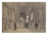 Vatican Museums, Gallery of Candelabra, Rome, Illustration from Album 'Rome Dans Sa Grandeur'