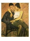 Urbanite Couple, 1920