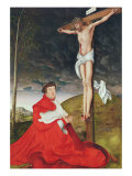 Albert, Cardinal Elector of Mainz at the Foot of the Cross