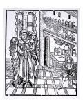 Apothecary's Shop, from 'Das Buch der Cirugia' published Strasbourg, 1497