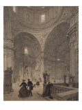Chapel of St. Ignatius of Loyola, Chiesa Del Gesu, Illustration from Album 'Rome Dans Sa Grandeur'