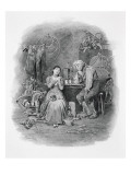 Caleb Plummer and his Blind Daughter, from 'Charles Dickens: A Gossip about his Life'