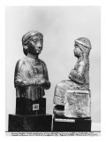 Woman with the Shawl, Woman Holding an Aryballos, Neo-Sumerian, from Telloh, Ancient Girsu, c.2150