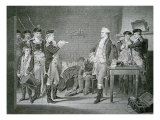 Major John Andre, the British Officer Hanged for Spying in 1780, Hears the Death Warrant