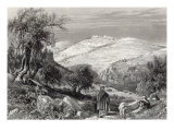 The Mount of Olives, from Mount Zion, engraved by S. Bradshaw