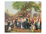 Peasant Wedding in Lower Austria