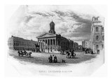 The Royal Exchange, Glasgow, Engraved by William Home Lizars