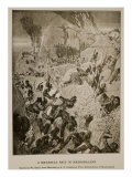A Matabele Raid in Mashonaland, from Sketches by A.R. Colquhoun
