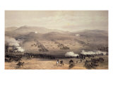Charge of Light Cavalry Brigade, 25th October 1854, engraved by E. Walker, pub. by Colnaghi and Co