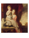 Countess Spencer with Lady Georgiana Spencer, 1759-61