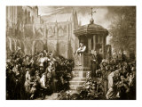 Latimer Preaching at St. Paul's Cross