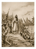 Erik the Saint Lands on the Coast of Finland, 1157