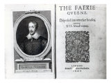 Portrait of Edmund Spenser and the Frontispiece to His Poem 'The Faerie Queene'