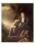 Portrait of Sir Walter Scott and His Dogs