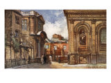 The Old Ashmolean Museum and Sheldonian Theatre, 1903