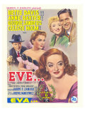 All About Eve, Belgian Movie Poster, 1950