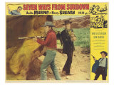 Seven Ways From Sundown, 1960