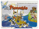 Pinocchio, UK Movie Poster, 1940