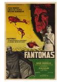 Fantomas, Argentine Movie Poster, 1964