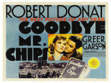 Goodbye Mr. Chips, UK Movie Poster, 1939