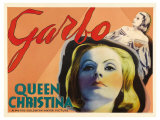 Queen Christina, UK Movie Poster, 1933