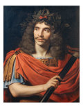 Portrait of Moliere as Caesar in the 'The Death of Pompey', 1657