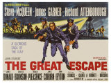 The Great Escape, UK Movie Poster, 1963
