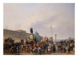 Carnival at Pont Neuf, 1830