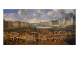 View of Pont Neuf with the Carriage Race of King Louis XIV, 1665