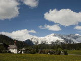 Charming Towns and Chalets Dot the Landscape Near Davos