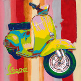 Pop Vespa I Art Print