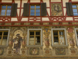 Charming Hand-Painted Facade on a Chalet Near Stein Am Rhein