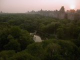 Sunrise over Central Park
