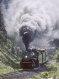 Ex-Southern Railway 2-8-2 #4501 on a Steam Fan Trip