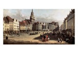 Dresden, the Old Market from Castle Street
