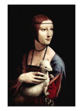 Buy Portrait of a Lady with An Ermine at AllPosters.com