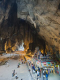 Hindu Shrine in Temple Cave at Batu Caves, Kuala Lumpur, Malaysia, Southeast Asia, Asia