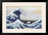 The Great Wave at Kanagawa , c.1829 Framed Poster