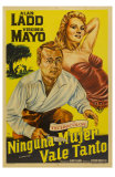 The Iron Mistress, Argentine Movie Poster, 1952