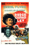 Dodge City, Spanish Movie Poster, 1939