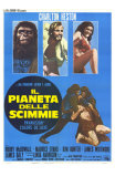 Planet of the Apes, Italian Movie Poster, 1968