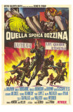 The Dirty Dozen, Italian Movie Poster, 1967